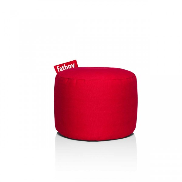 Fatboy Point Hocker Stonewashed red