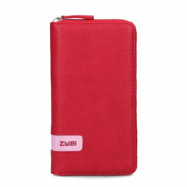 ZWEI M.WALLET canvas-red