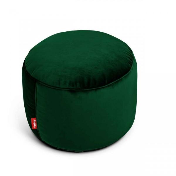 Fatboy Point Hocker Velvet emerald green