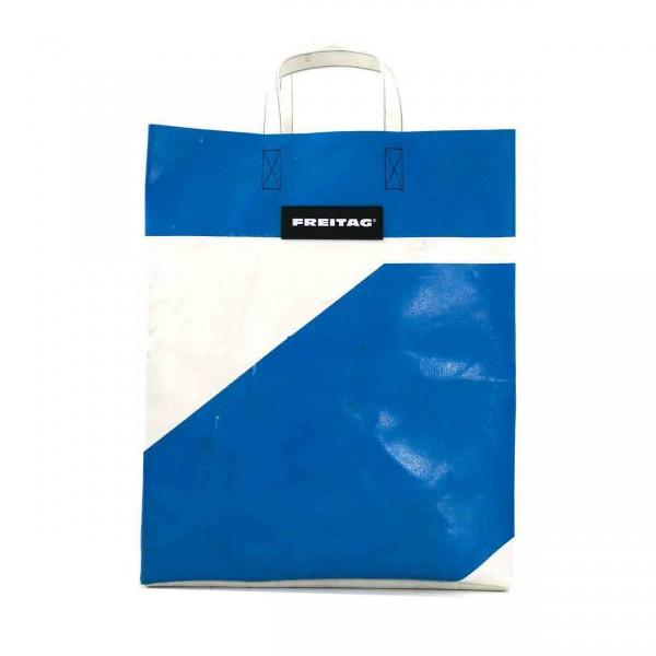 FREITAG Tasche F52 Miami Vice blau & weiß Ansicht 1