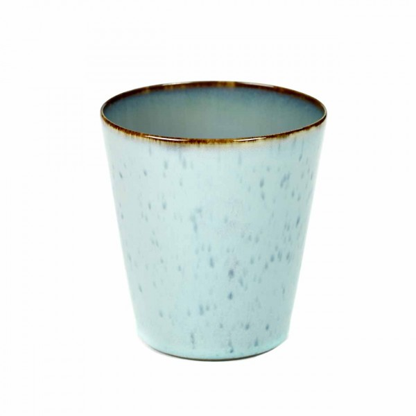 Serax Becher konisch D8,5 light blue/smokey