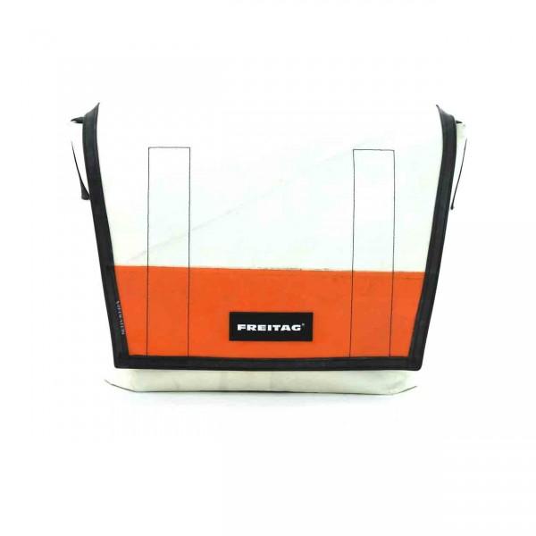 FREITAG Tasche F12 Dragnet weiß & orange Ansicht 1