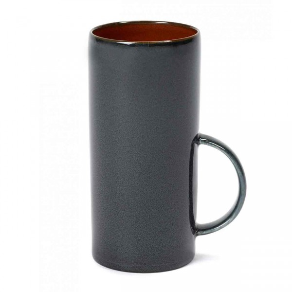 Serax Teetasse D6 rust / dark blue