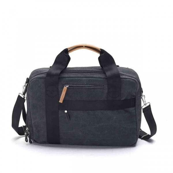 Qwstion Officebag Tasche washed black Ansicht 1
