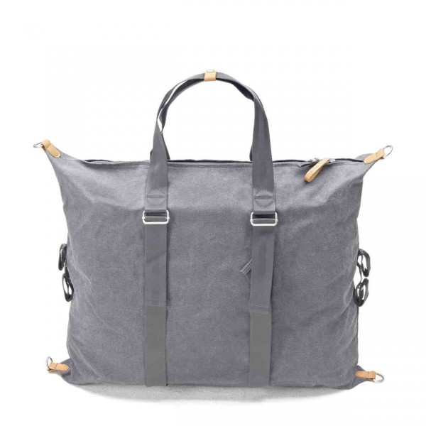 Qwstion Simple Holdall Tasche washed grey Ansicht 1