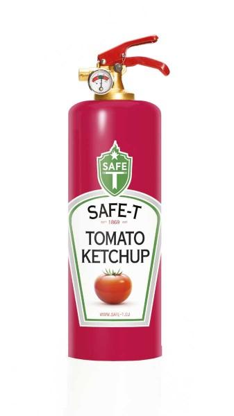 DNC Safe-T Feuerlöscher Ketchup