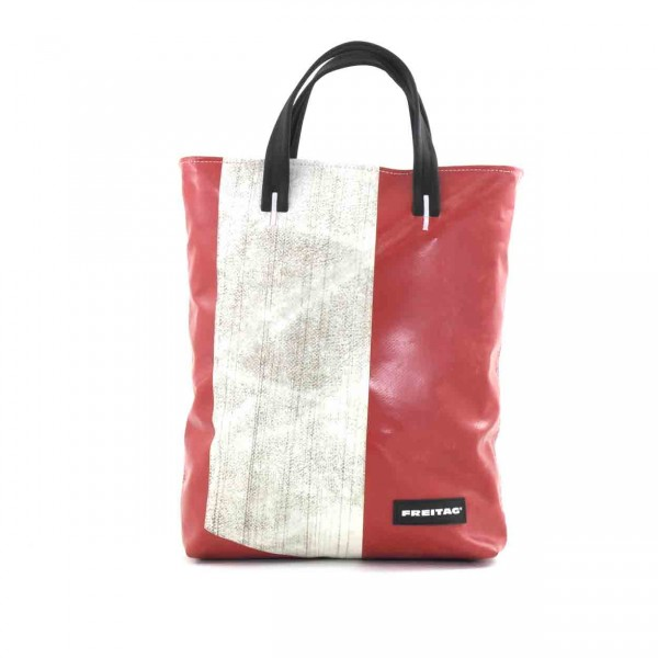 FREITAG Tasche F202 Leland rot & weiß Ansicht 1