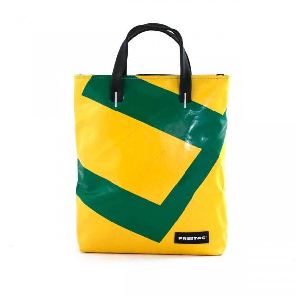 FREITAG Tasche F202 Leland gelb & grün Ansicht 1