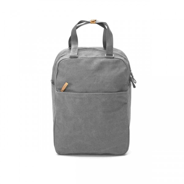 Qwstion Small Pack Rucksack organic washed grey Ansicht 1