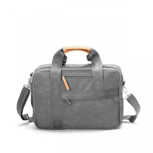 Qwstion Officebag Tasche washed grey Ansicht 1