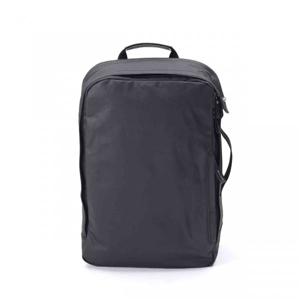 Qwstion Backpack Rucksack organic jet black Ansicht 1