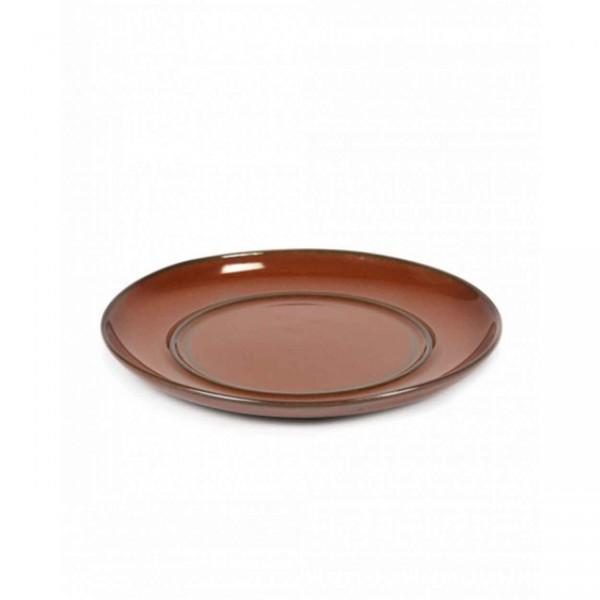 Serax Unterteller D13,5 für Tasse D8 Rust