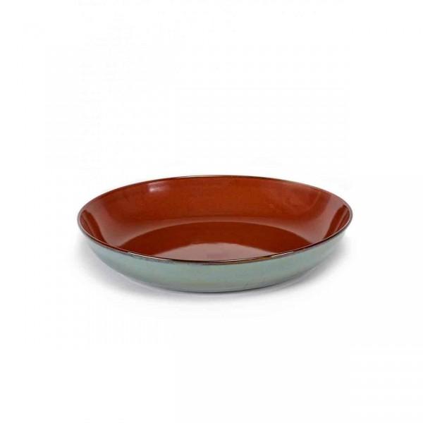 Serax Pasta Plate D23,5 smokey blue / rust