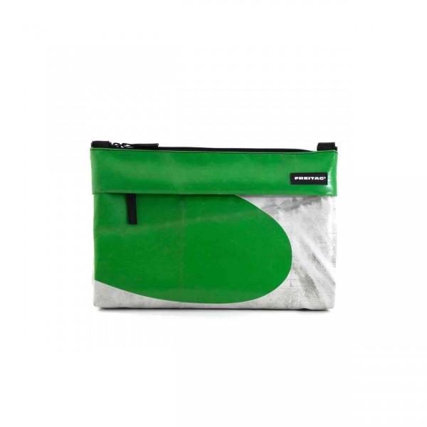 FREITAG Tasche Lou F553 Grün & Weiß