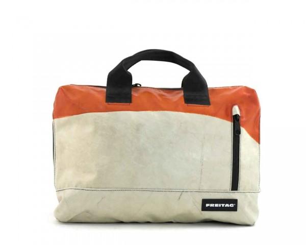 FREITAG Tasche F301 Moss Orange & Weiß Ansicht 1