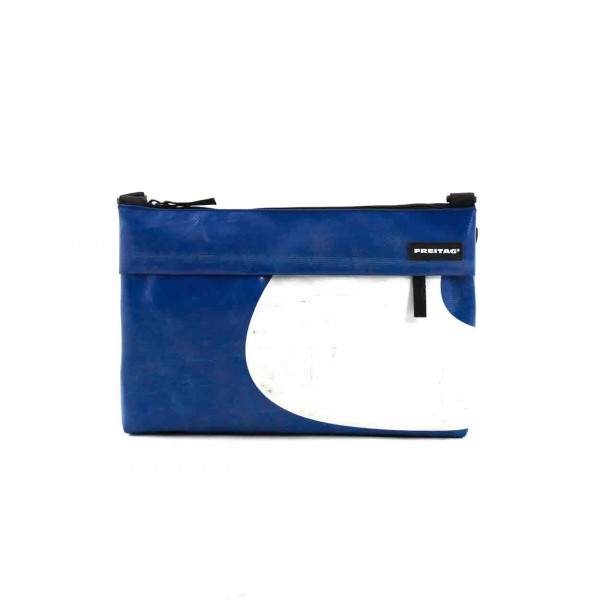 FREITAG Tasche Lou F553 Blau & Weiß
