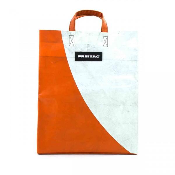 FREITAG Tasche F52 Miami Vice orange & weiß Ansicht 1