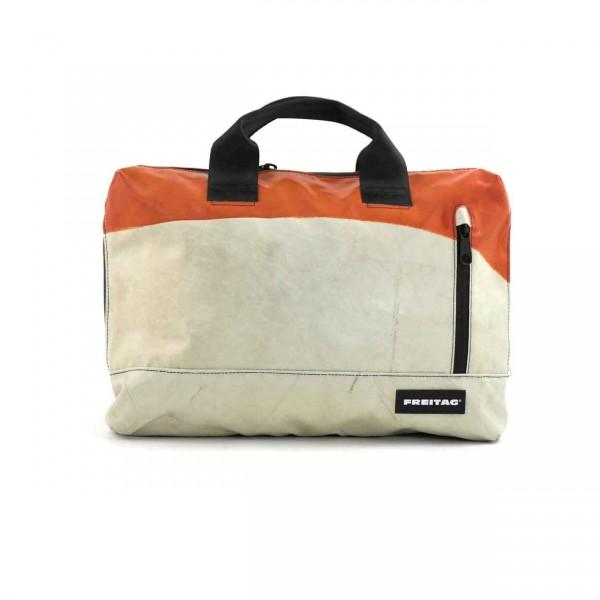 FREITAG Tasche F301 Moss 34 Orange & Weiß Ansicht 1