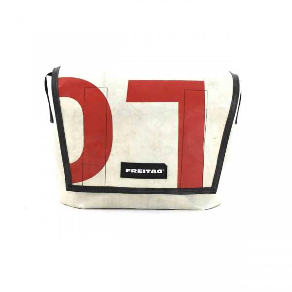 FREITAG Tasche F14 Dexter weiß & rot Ansicht 1