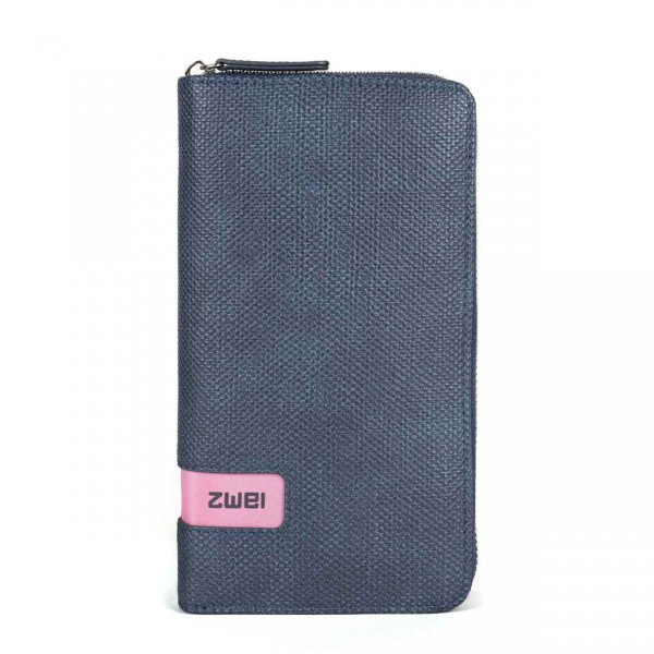 ZWEI M.WALLET canvas-blue