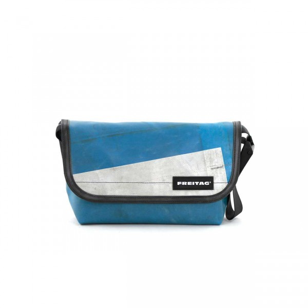 FREITAG Tasche F41 Hawaii Five-O blau & weiß Ansicht 1