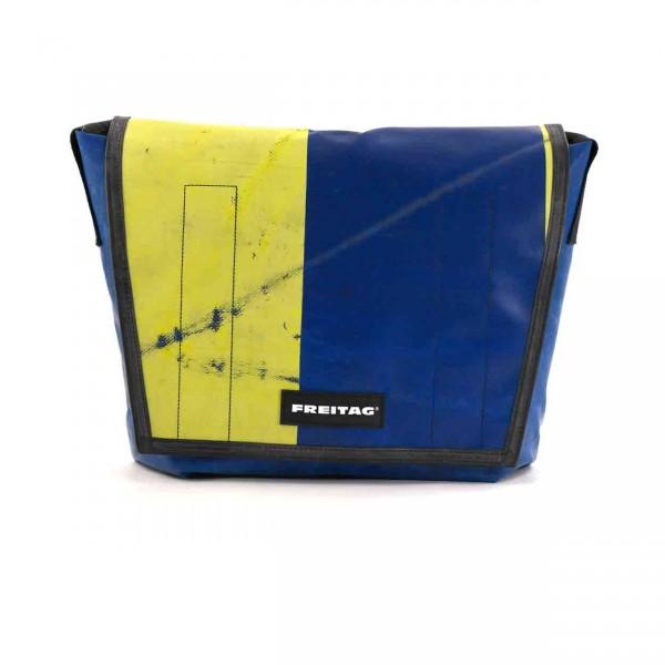 FREITAG Tasche Dragnet F12 Blau & Gelb Ansicht 1