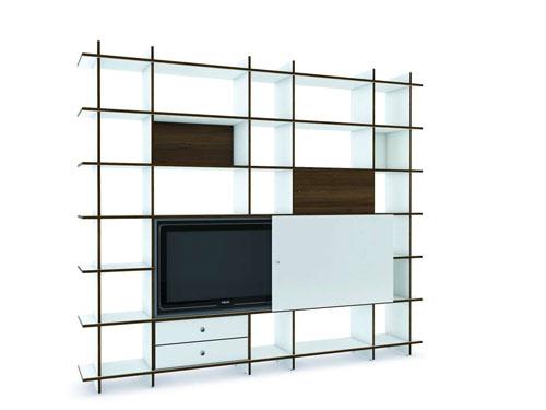 Oliver Conrad QR Regal - mit Türen und Schubladen