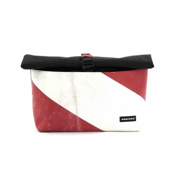 FREITAG Tasche F640 Rollin rot & weiß Ansicht 1