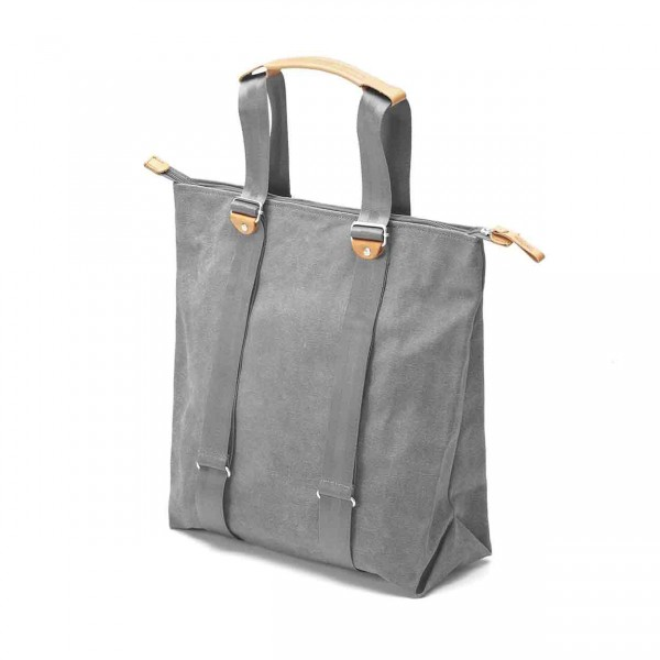 Qwstion Simple Zipshopper washed grey Tasche Ansicht 3