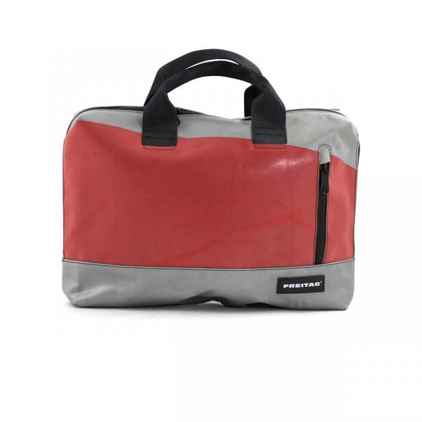 FREITAG Tasche F301 Moss 33 Grau & Rot Ansicht 1