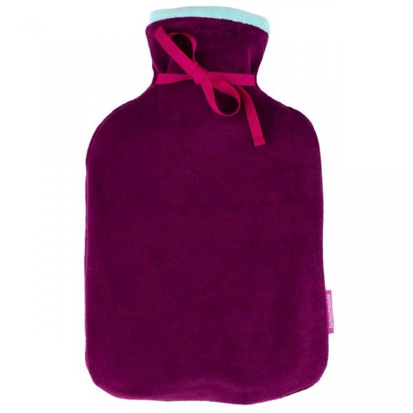 farbenfreunde Wendewärmflasche brombeer - karibik
