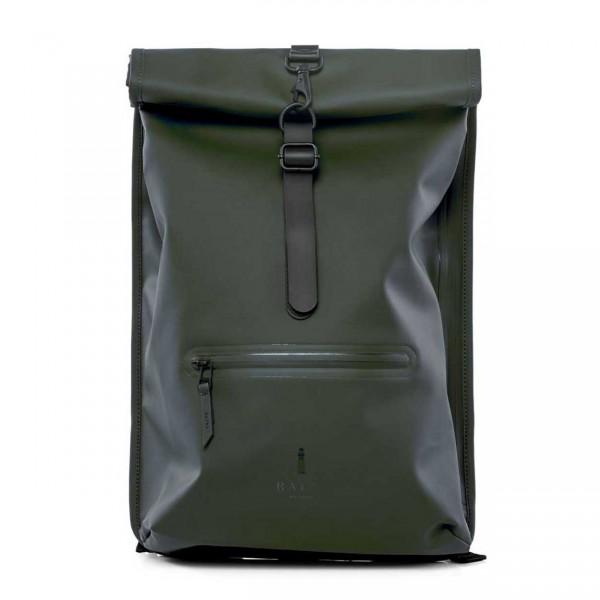 RAINS ROLLTOP Backpack green Ansicht 1
