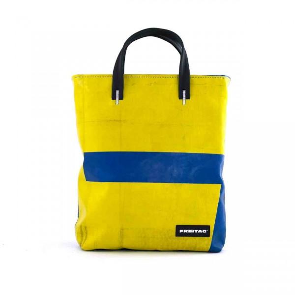FREITAG Tasche F202 Leland blau & gelb Ansicht 1