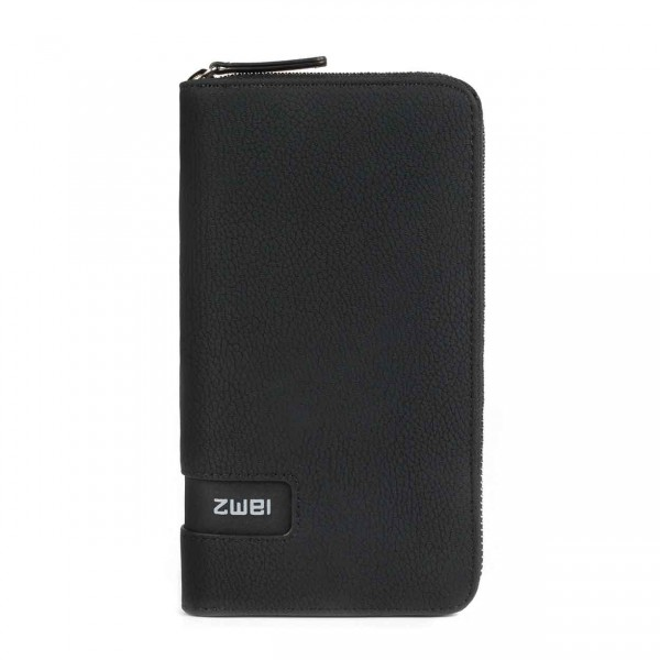 ZWEI M.WALLET nubuk-black