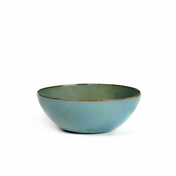 Serax Bowl L smokey blue
