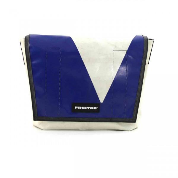 FREITAG Tasche F12 Dragnet weiß & blau Ansicht 1