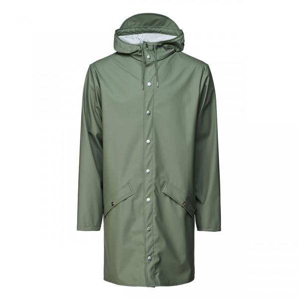 RAINS Long Jacket olive Ansicht 1