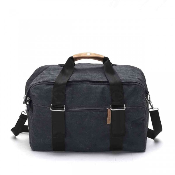 Qwstion Weekender Tasche washed black Ansicht 1