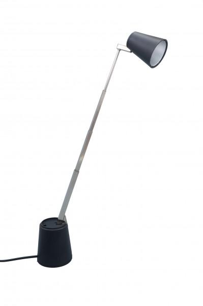 RR Leuchten Lampette Tischleuchte schwarz