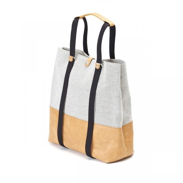 Qwstion Shopper Tasche raw blend natural leather Ansicht 1