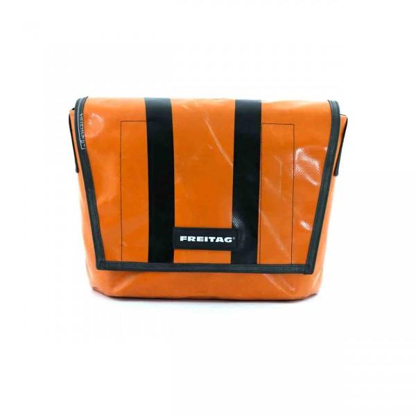 FREITAG Tasche F14 Dexter orange & schwarz Ansicht 1