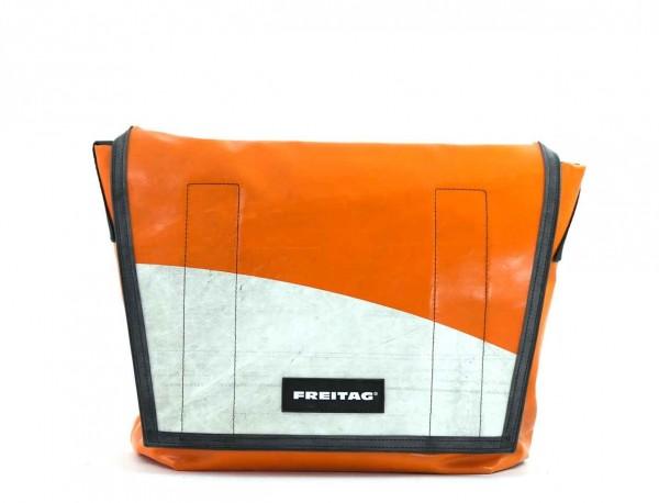 FREITAG Tasche F12 Dragnet 30 Orange & Weiß Ansicht 1