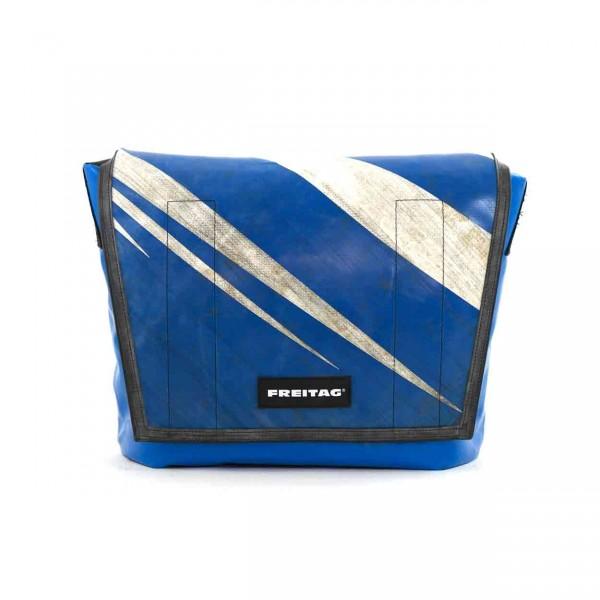 FREITAG Tasche F12 Dragnet 27 Blau & Weiß Ansicht 2
