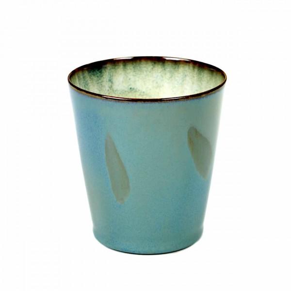 Serax Becher konisch D8,5 smokey blue