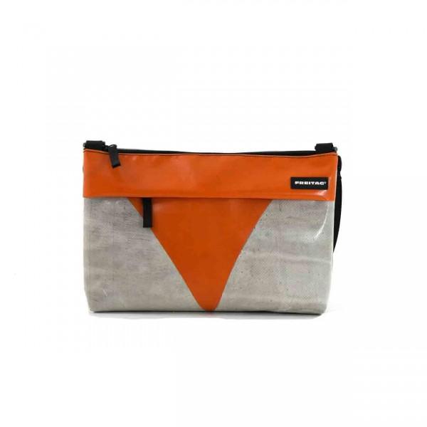 FREITAG Tasche F553 Lou weiß & orange Ansicht 1