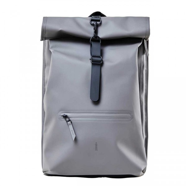 RAINS ROLLTOP Backpack charcoal Ansicht 1