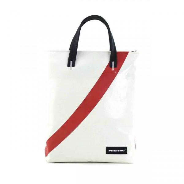 FREITAG Tasche F202 Leland weiß & rot Ansicht 1