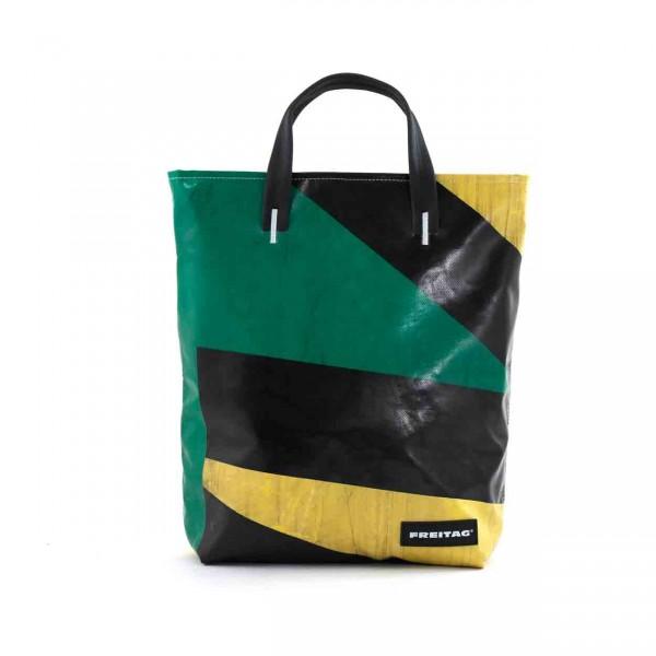 FREITAG Tasche F202 Leland gelb, grün & schwarz Ansicht 1