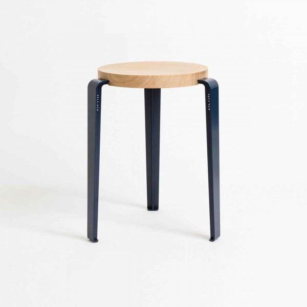 TIPTOE LOU Stool mineral blue Ansicht 1