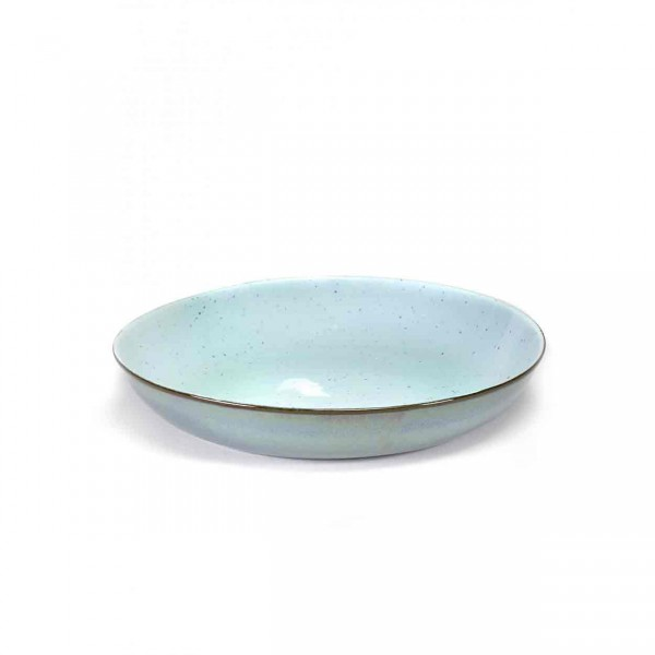 Serax Pasta Plate D23,5 smokey blue / light blue